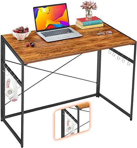 "7. Mr. IRONSTONE 31.5"" Folding Computer Desk"