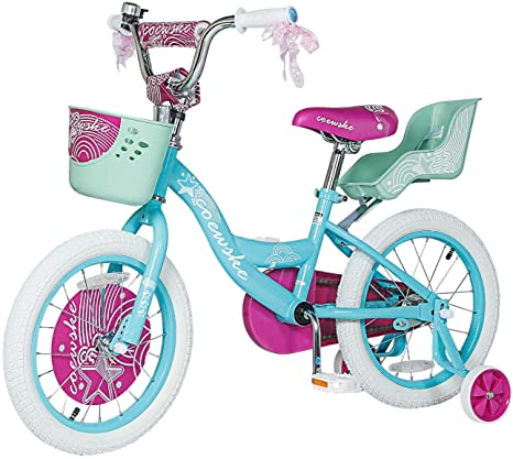 9. Kids Bike 12 14 16 Inch Boys Girls Bike with Training Wheels 18 20 Inch Kids Bicycle