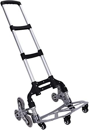 2. Stair Climbing Cart WOQED Stair Cart Folding Hand Truck