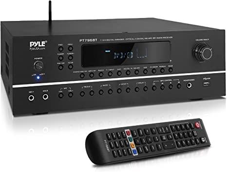 8. 7.1-Channel Hi-Fi Bluetooth Stereo Amplifier