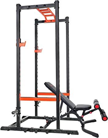6. Sunny Health & Fitness Power Zone Strength Rack Power Cage
