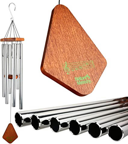 3. Nature's Melody Premiere Grande Tunes Wind Chimes – Outdoor Wind chime