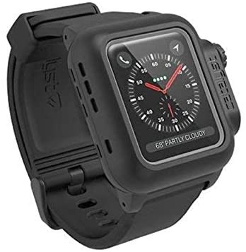 7. Catalyst 330ft Waterproof Case for Apple Watch 38mm Series 3 & 2 Rugged iWatch Protective Case,