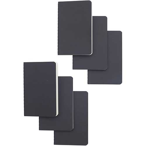 7. Softcover Pocket Notebook Set - 3.5