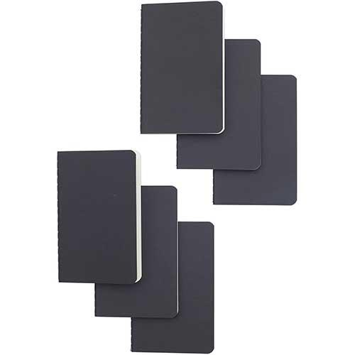 7. Softcover Pocket Notebook Set - 3.5