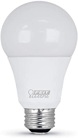 9. FEIT ELECTRIC A50/150/950CA 50/100/150W Equivalent 3-Way Non-Dimmable A21 LED Light Bulb, 5000K Daylight