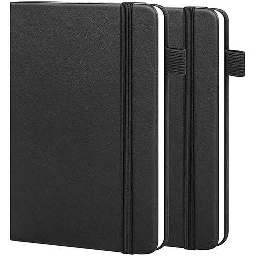 6. 2-Pack Pocket Notebook Journal Notepad 3.5