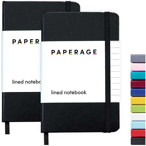8. 2-Pack Pocket Notebook Journal Notepad Small, College Ruled, 3.7