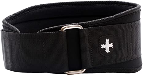 8. Harbinger 5-Inch Weightlifting Belt with Flexible Ultra-light Foam Core, Black, Large (33 - 37 Inches)
