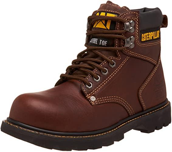 5. Caterpillar Men's Second Shift Steel Toe Work Boot