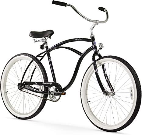 8. Firmstrong Urban Man Beach Cruiser Bike, Black