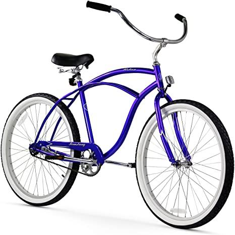 10. Firmstrong Urban Man Beach Cruiser Bike, Royal Blue