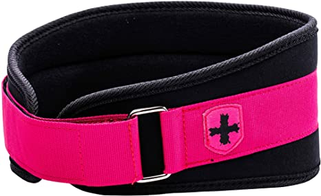 2. Harbinger Women's Nylon Weightlifting Belt with Flexible Ultralight Foam Core