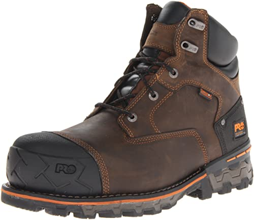 2. Timberland PRO Men's Boondock 6 Inch Composite Safety Toe