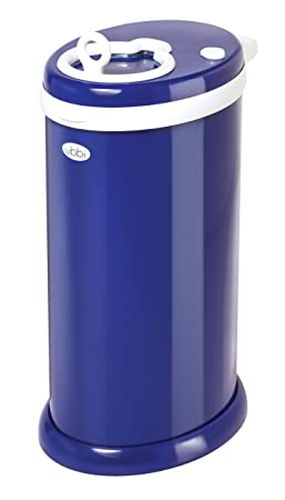 9. Ubbi Steel Odor Locking, No Special Bag Required Money Saving, Awards-Winning, Modern Design Registry Must-Have Diaper Pail