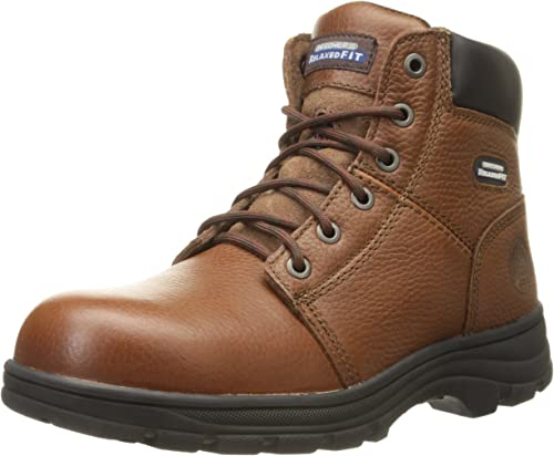 10. Skechers for Work Men's Workshire Relaxed Fit Work Steel Toe Boot