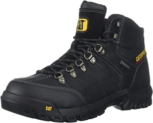 5. Caterpillar Men's Threshold Waterproof Industrial Boot