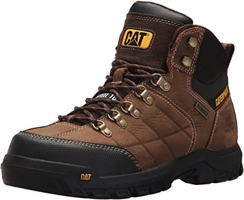 3. Caterpillar Men's Threshold Waterproof Steel Toe Industrial Boot
