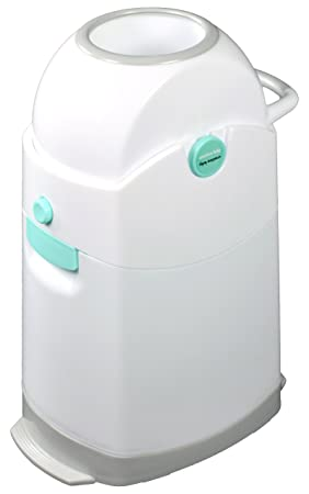 6. Creative Baby Tidy Diaper Pail, Pearl, Pearl/Blue/White/Gray, One Size