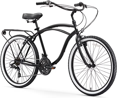 5. sixthreezero Around The Block Men's Single-Speed Beach Cruiser Bicycle