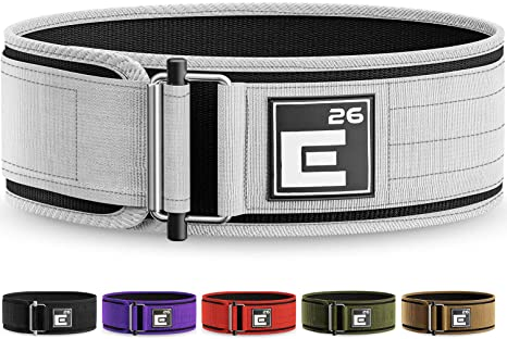 1. Element 26 Self-Locking Weight Lifting Belt | Premium Weightlifting Belt for Serious Functional Fitness, Weight Lifting, and Olympic Lifting Athletes
