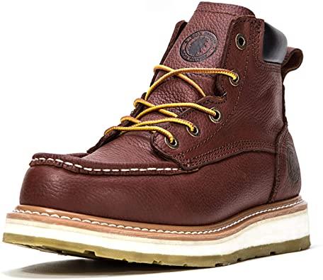 9. ROCKROOSTER Work Boots for Men