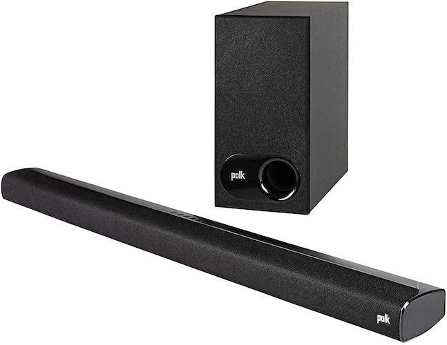 7.Polk Audio Signa S2 Ultra-Slim TV Sound Bar | Works with 4K & HD TVs | Wireless Subwoofer