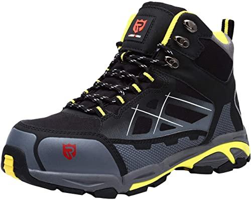 7. LARNMERN Steel Toe Boots
