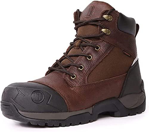 8. HANDMEN Work Boots for Men, 6