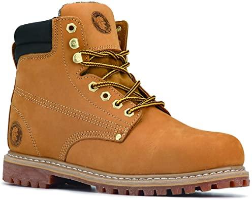 10. ROCKROOSTER Underwood Men's Work Boots Comfort Memo Boots