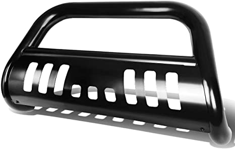6. Replacement for Chevy Silverado/GMC Sierra GMT800 3 inches Bumper Push Bull Bar + Removable Skid Plate