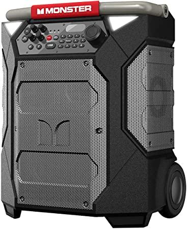 8. Monster Rockin' Roller 270 Portable Indoor/Outdoor Wireless Speaker