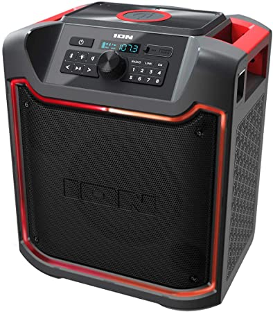 5. ION Pathfinder 4 Bluetooth Portable Speaker with Wireless Qi Charging