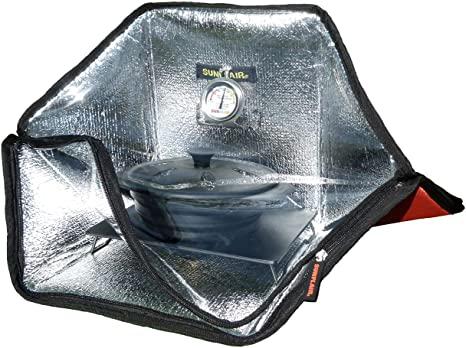 3. Sunflair Mini Portable Solar Oven