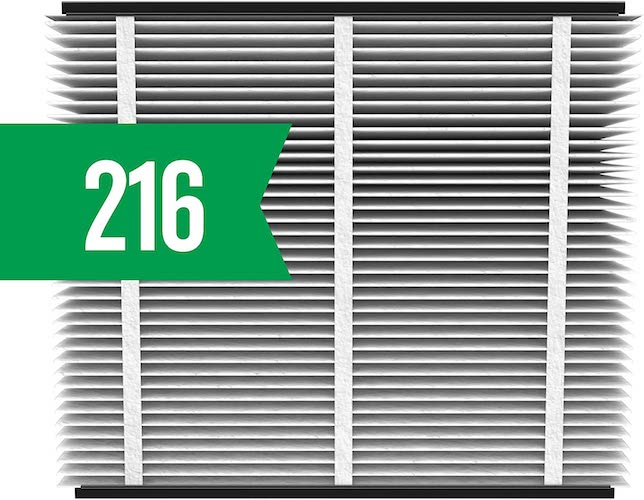9.Aprilaire - 216 A2 216 Replacement Air Filter for Whole Home Air Purifiers, Allergy, Asthma, & Virus Filter