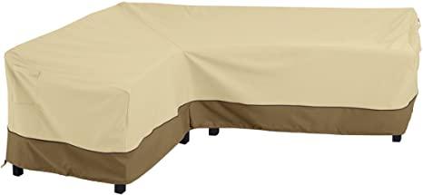 7. Classic Accessories 56-303-051501-EC Veranda Water-Resistant 115 Inch Patio Left-Facing Sectional Lounge Set Cover