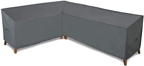 10. Patio Watcher Sectional Lounge Set Cover, Durable and Waterproof Patio Furniture Sectional Right Sofa Cover