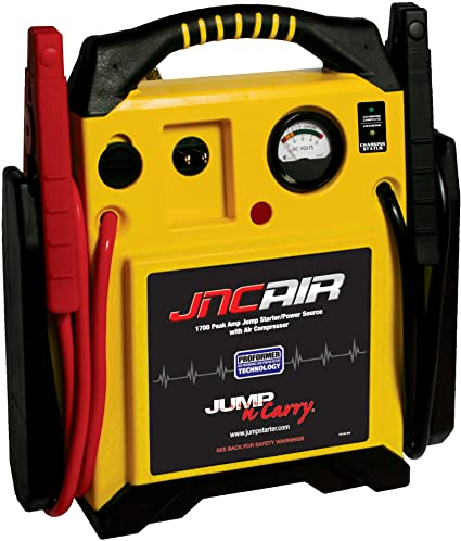 5. Clore Automotive Jump-N-Carry JNCAIR 1700 Peak Amp Jump Starter with Air Compressor