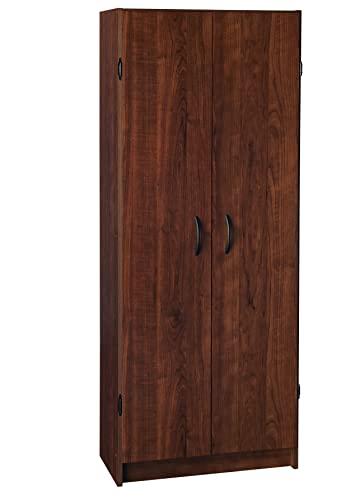 9. ClosetMaid 1308 Pantry Cabinet, Dark Cherry