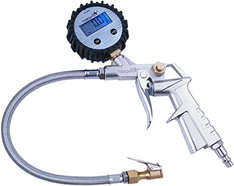10. TORQIFY AT875 Tire Inflator Air Tool with Digital Pressure Gauge
