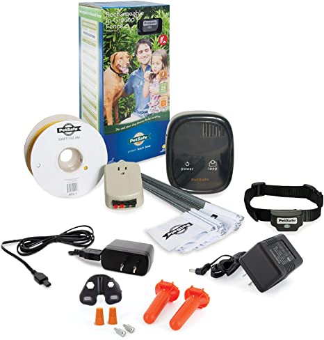 8. PetSafe Rechargeable In-Ground Fence for Dogs and Cats over 5lb - from the Parent Company of INVISIBLE FENCE Brand