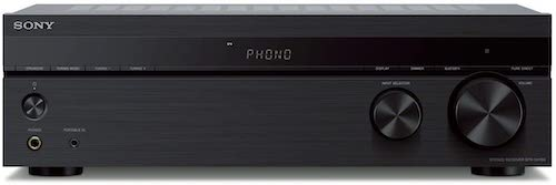 4.Sony STRDH190 2-ch Home Stereo Receiver with Phono Inputs & Bluetooth Black