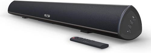 9.100 Watt 40 Inch TV Sound Bar, BESTISAN Home Theater System Wired and Wireless Soundbar Speaker