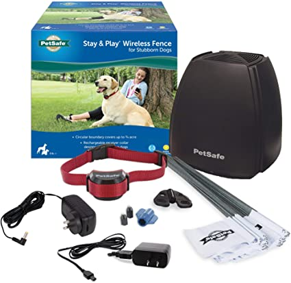 2. PetSafe Stay and Play Wireless Fence for Stubborn Dogs from the Parent Company of Invisible Fence Brand