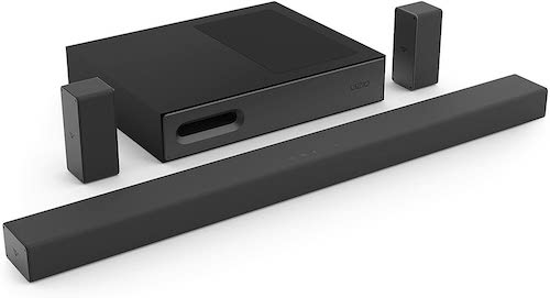 """5.VIZIO Sound Bar for TV, 36"""" 5.1 Channel Home Theater Surround Sound System with Wireless Subwoofer and Bluetooth"""